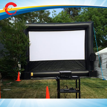 free air shipping,outdoor Giant  Inflatable air projector Screen,front rear/back projection screen