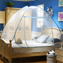 Moustiquaire Mosquito Net Bug Insect Repeller tent Shape Travel Camping Home Single Double Bed Elegant Classical