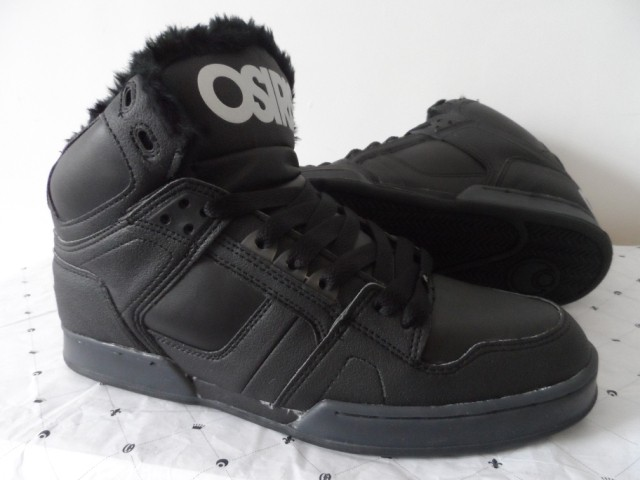 Osiris Men Skate boarding Fur Winter Shoe Fashion Black Color Lace Up Men Fashion Xmas Gift for men Children Shoes for men NYC83<br><br>Aliexpress