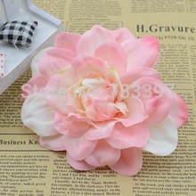 12cm Simulation flowers Dahlia artificial flowers silk flower DIY headdress hat clothes decorative flower