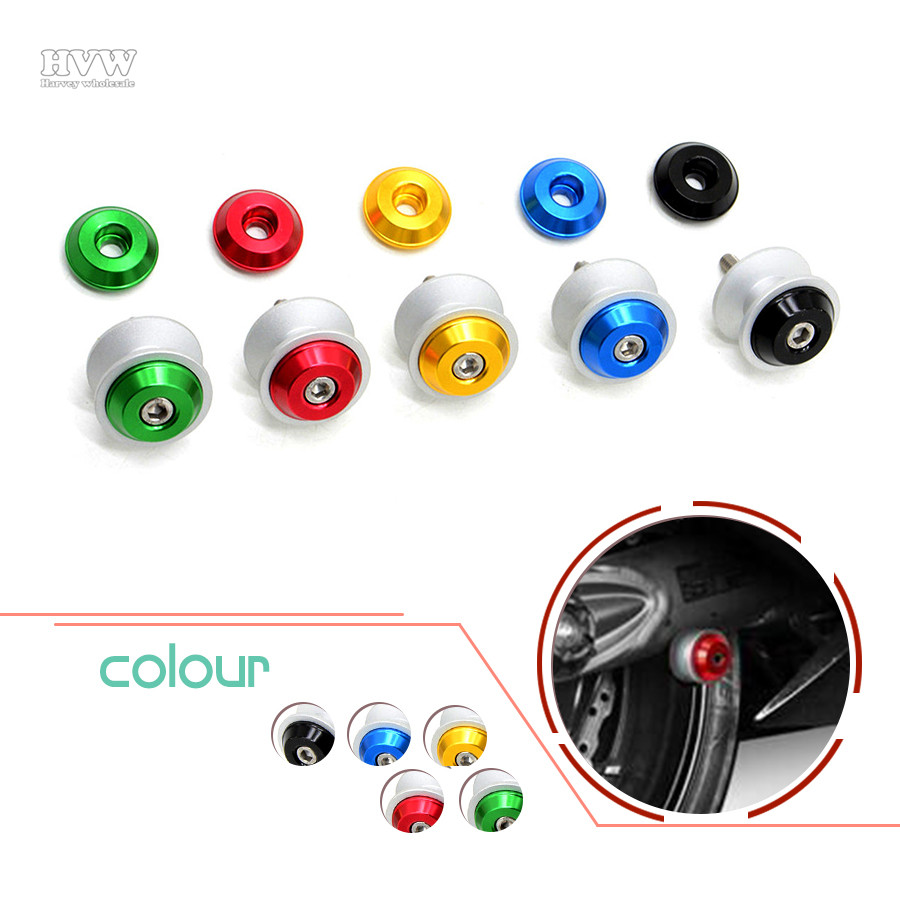 2pcs 6mm 8mm 10mm CNC Universal Motorcycle Stands Screws Swingarm Spools Sliders Bolts For Benelli Huanglong 600/300 / BN600 /  <br><br>Aliexpress