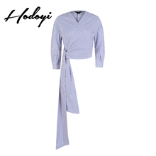 Buy Plus Size Striped Shirt Boho Blouse Women Clothes 2017 Womens Clothing V Neck band female shirt Kimonos De Mujer Verano Femme for $21.11 in AliExpress store