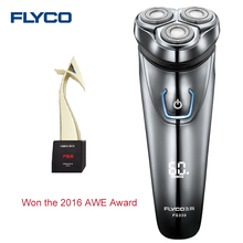 FLYCO FS339 Electric Shaver with 3D Floating Heads IPX7 Level Waterproof Washable Rechargeable Rotary Charging Indicator for Man(China)