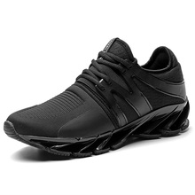 Ifrich New Arrival Men Sport Shoe Brands Comfortable Men Athletic Shoes Walking Jogging Sneaker Black Red Trail Running Shoes(China)