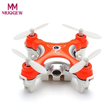 New CX-10C Mini 2.4G 4CH 6 Axis LED RC Quadcopter with Camera RTF Indoor Induction Aircraft high quality 4 Channel RC Helicopter(China)