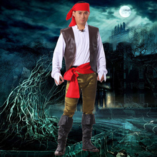 Pirates Of The Caribbean For Adult Cosplay Party Halloween Costumes Pirate Captain Jack Sparrow Halloween Costume