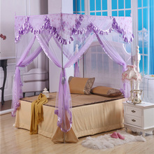 Luxury Canopy Bed Mosquito Net Bedroom Canopy Dossel Princess Bed Nets Curtains Bedding Canopy Mosquito Net for Double Bed