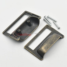 2 pcs / Lot Drawer Label Tag 81mm x 62mm Office File Pull Home Cabinet Frame Handle Files Name Card Holder with Screw