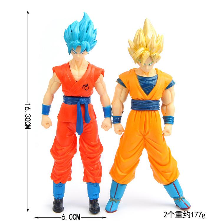 Dragon ball Z Super Saiyan Goku Vegeta figuras 2017 New Dragon ball Z Dragonball action figure son of goku vegeta model figurine 1