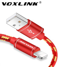 VOXLINK Lightning to USB Cable Fast Charger Adapter Original USB Cable For iphone 7 6 s plus 5 5s ipad mini Mobile Phone Cables(China)