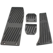 XYIVYG Black Foot Rest Pedals Set Fit for BMW E30 E36 E46 E87 E90 E91 E92 E93 M3 M Tech MT(China)