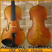 100% Handmade Stradivarius Cremonese 1715  Violin Model, Antique varnish,Free violin case , bow and rosin, No.2454