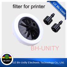 Cheapest price !!10u 45MM eco solvent ink filter for UV flatted printer of phaeton allwin human printer