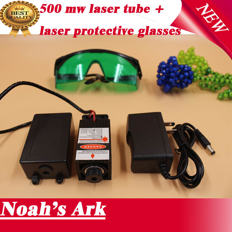 Free shipping!500mw 405nm laser head,laser tube,include protective glasses blue violet laser module,DIY laser engraving machine.<br><br>Aliexpress