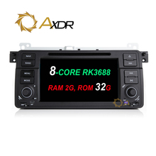 Android 6.0 8 CORE RK3688 Car 2 din dvd player For BMW E46 M3 E39 X5 Rover 3 Series RAM 2G ROM 32G navigation radio stereo GPS