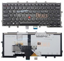 New laptop replacement Backlit keyboard for Lenovo ThinkPad X250 Series US layout(China)