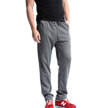 Big Size 4XL New Design Joggers SweatPants Men Delicacy Workout Full Black Length Pants Casual Exercise Wear Classic Trousers(China)
