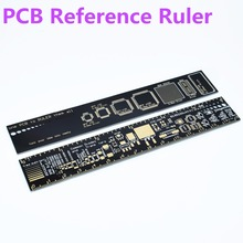 PCB Ruler 15cm For Electronic Engineers For Geeks Makers For Arduino Fans PCB Reference Ruler PCB Packaging Units v2 - 6(China)