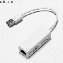 USB Ethernet Adapter USB 2.0 to RJ45 Lan Network Ethernet Adapter network Card For Apple MacBook Air