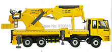 1/35 XCMG Articulated truck crane SQZ4000A DieCast model Construction vehicles Toy(China)