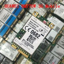 Unlocked EM770W MINI PCIE 3G WWAN mobile broadband HSPA Module HUAWEI EM770w 3g CARD(China)
