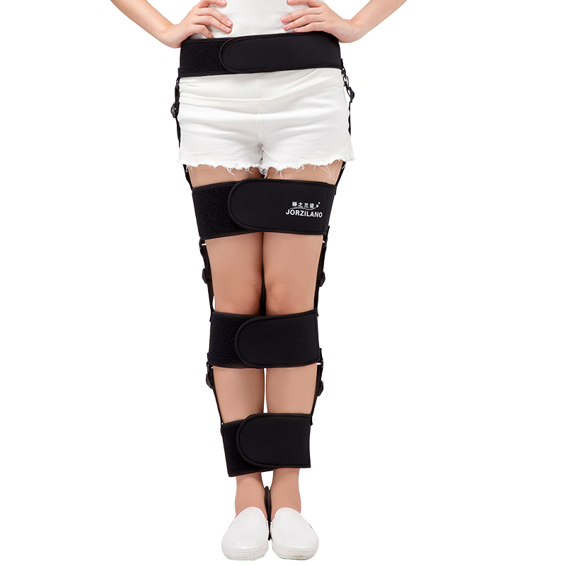 High-Grade Material Adjustable O/X-type Leg Correction Bowlegs Leggings Hip Orthotics Legs Corrector Use Day and Night S/M/L/XL<br>