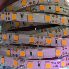 XUNATA SMD 5054 Led Strip Light Non-waterproof Led Tape 60Leds/m DC 12V Brighter Than 5050 5630 Cold white ice blue Yellow