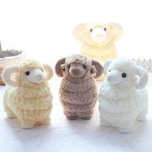 Stuffed Goat Toy Plush Baby Child Doll Kawaii Stuff Pillow Sheep Plush Toys Funny Pluche Goat Stuffed Animal Toy Soft 70C0586