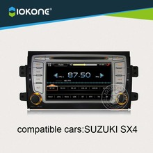 IOKONE Car DVD Player For SUZUKI SX4 With Radio,Bluetooth,GPS,iPod,Steering Wheel Control(China)