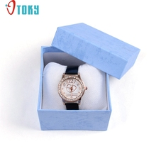 OTOKY Unique  Gift Box Wristwatch Box for Watch Original Watch Box Paper Drop ship F20