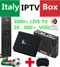 Kii Pro Android 4K UHD DVB-S2/T2 Combo TV Box 2/16G ROM with Super Italy UK 3000+Adult LiveTV 20K+VOD Smart K2 Pro Set top box