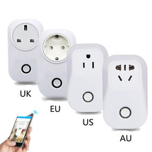 20 Wifi Wireless Remote Control Socket Smart Home Power Socket EU US UK AU Standard Via App Phone Smart Timer Home Plug(China)