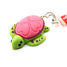 Lovely USB Flash Drive 8GB cartoon Tortoise Turtle memory stick 32GB Sea turtle  pen drive 4GB 64GB pendrive16GB