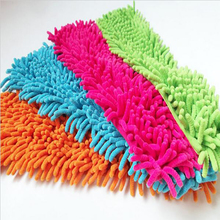 4Pcs Replacement Pad For Flat Mop Floor Cleaning Mops Chenille Flat Mopas De Limpieza Paspas heads replacement(China)