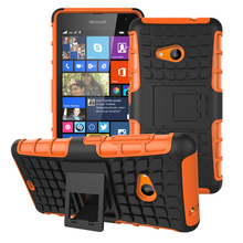 Military Armor Kickstand Phone Case Cover For Microsoft Nokia Lumia 535 N535 5.0 inch Case 2 in 1 Hybrid Housing For Nokia 535