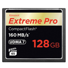 Kimsnot Extreme Pro 16GB 32GB 64GB 128GB Memory Card CF Card Compact Flash Cards 160MB/s 1067x High Speed UDMA7 For Canon Nikon