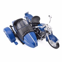 Maisto 1:18 1952 FL Hydra Glide Classic Sidecar Diecast Motorcycle Model Toy New in Box