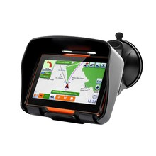 2017 Updated 256 RAM 8GB Flash 4.3 Inch Moto Navigator GPS Moto for Motorcycle Waterproof gps Navigation with FM Free Maps!