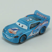Pixar Cars Dinoco No.95 maikun Diecast Metal Toy Car For Children Gift 1:55 Loose Brand New In Stock