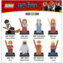 2017 Newest Harry Porter Minifigure Fairy Tartan Pajamas Joke Lego Batman Movie Wholesale Toys Action Figures