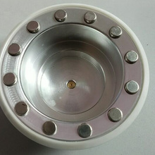 diameter 120mm tampo print ink cup with ceramic ring