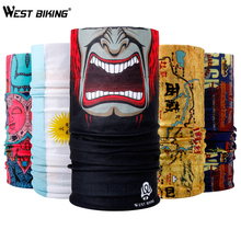 WEST BIKING Buy 2 Get 1 Bicycle Magic Scarf Outdoor Sports Riding Mask Bike Headband Breathable Seamless Bandanas Cycling Scarf