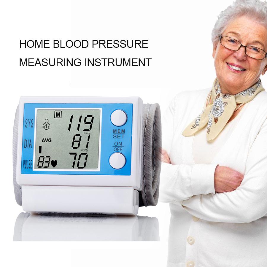 Household intelligent Electronic Upper Arm blood pressure monitor Digital LCD sphygmomanometer Health Care 2