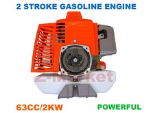 1E48F 63CC 2 Stroke Gasoline Engine Mounted In Brush Cutter.Grass Trimmer.Lawn Mower.Tiller.Outboard.etc Garden Tools