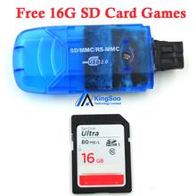 Dreamcast DC SD card adapter converter free 16G SD card games with light