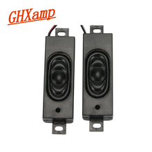 GHXAMP 8OHM 2W Portable Speaker LCD Advertising Machine Monitor TV Speaker DIY 64*23MM 2PCS(China)