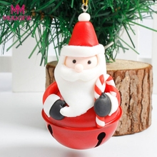 new arrival Christmas Tree Decoration Bells Ornament Home Decor Holiday Gift Old Man Snowman Christmas home garden outdoor decor(China)