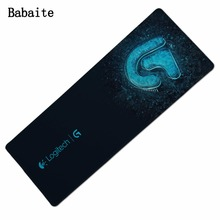 Babaite For Logitech Large Mouse Pad computer keyboard mat size 900*300/800*600 MM For cs go rubber mouse mats