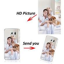 Custom DIY Print Photo Soft TPU Phone Case Samsung Galaxy A3 A5 A7 J3 J5 J7 2015 2016 2017 Customized Cover Free Logo Fee