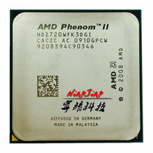 AMD Phenom II X3 720 2.8 GHz Triple-Core CPU Processor HDZ720WFK3DGI Socket AM3(China)